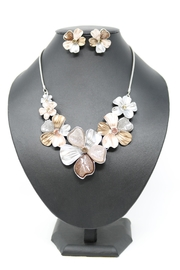 Nadya's Closet Crystal Flower Necklace - Product Mini Image