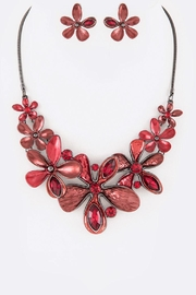 Nadya's Closet Crystal Flower Necklace-Set - Product Mini Image