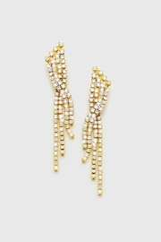 Wild Lilies Jewelry  Crystal Fringe Earrings - Product Mini Image