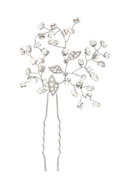 C+I Crystal Hair Pin - Front cropped