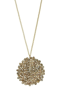 Accessorizit Crystal hand wired long chain circle - Alternate List Image