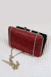 Dominique Crystal Hard Case  Evening Bag - Product Mini Image