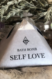 magicfairycandles Crystal Healing Bath Bomb Self Love - Product Mini Image