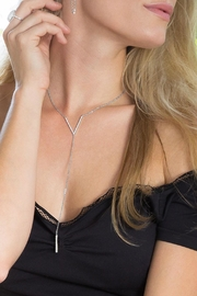 Wild Lilies Jewelry  Crystal Lariat Necklace - Product Mini Image