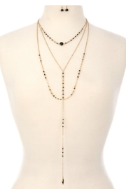 Minx Crystal Lariat Set - Product Mini Image