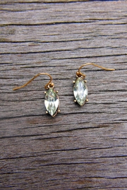 Wild Lilies Jewelry  Crystal Marquise Earrings - Product Mini Image