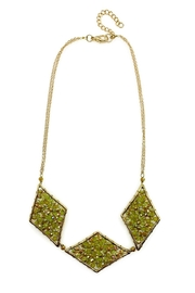 Ananda Chicago  Crystal Necklace - Front cropped
