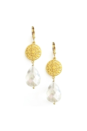 Malia Jewelry Crystal Pendant Earrings - Product Mini Image