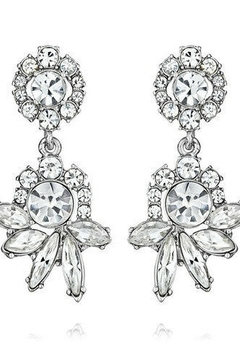C+I Crystal Drop Post Earrings - Product List Image
