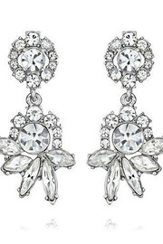 C+I Crystal Drop Post Earrings - Product Mini Image