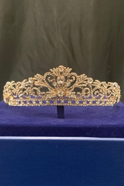 Lucky Collections Crystal Rose Gold Tiara - Product Mini Image