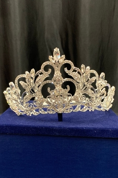 Morilee Crystal Silver Tiara - Product List Image