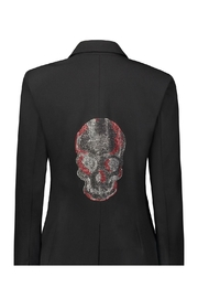 HIPCHIK  Crystal Skull Red&Silver - Product Mini Image