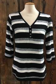 Crystal Soft Striped Top - Product Mini Image