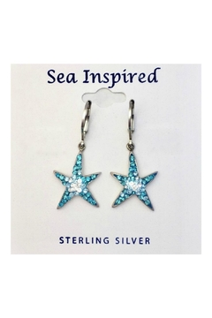 Presco Crystal Starfish Earrings - Product List Image
