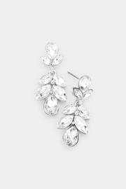 Wild Lilies Jewelry  Crystal Statement Earrings - Product Mini Image