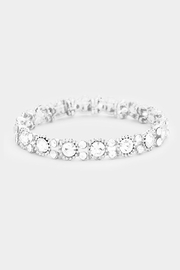 Wild Lilies Jewelry  Crystal Stretch Bracelet - Product Mini Image