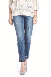 Cartise Crystal Studded Jeans - Product Mini Image