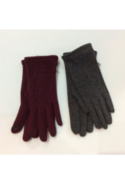 Nolia Crystal studded smart finger knit gloves - Product Mini Image