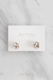 MALANDRA Jewelry Crystal Studs - Product Mini Image