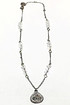 Shoptiques Product: Crystal Teardrop Necklace