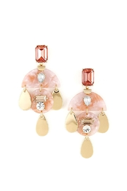 Wild Lilies Jewelry  Crystal Tortosie Earrings - Product Mini Image