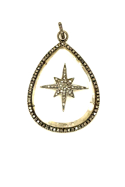 The Woods Fine Jewelry  Crystal with Star Pendant - Product Mini Image