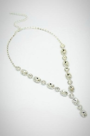 Embellish Crystal Y Necklace - Product Mini Image