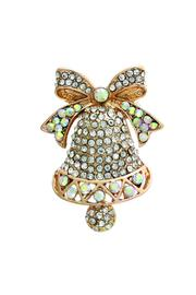 Crystal Avenue Bell Lapel Pin - Product Mini Image
