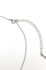 Crystal Avenue Blessed Name Plate Necklace - Side cropped