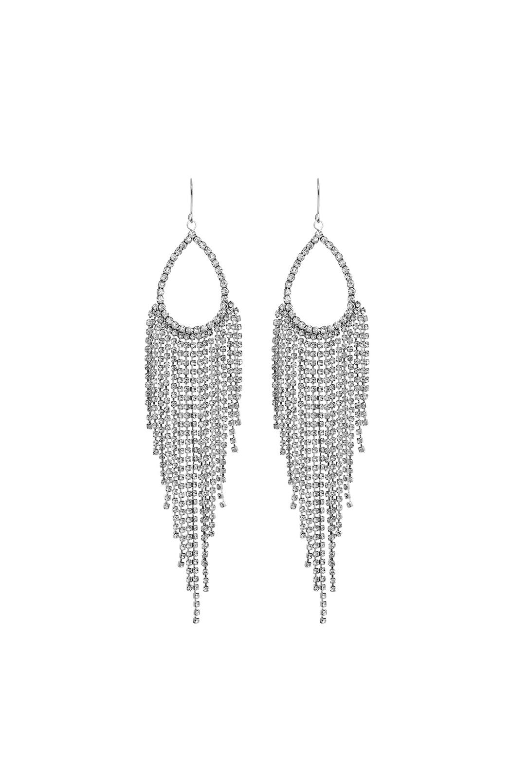 Crystal Avenue Bridal Dangle Earring - Main Image