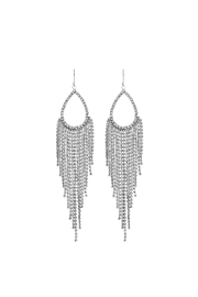 Crystal Avenue Bridal Dangle Earring - Product Mini Image