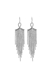 Crystal Avenue Bridal Dangle Earring - Front cropped