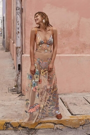 FOR LOVE & LEMONS Cuba Maxi Dress - Front cropped