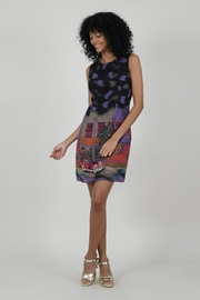 Molly Bracken Cuba Print Shift Dress - Product Mini Image