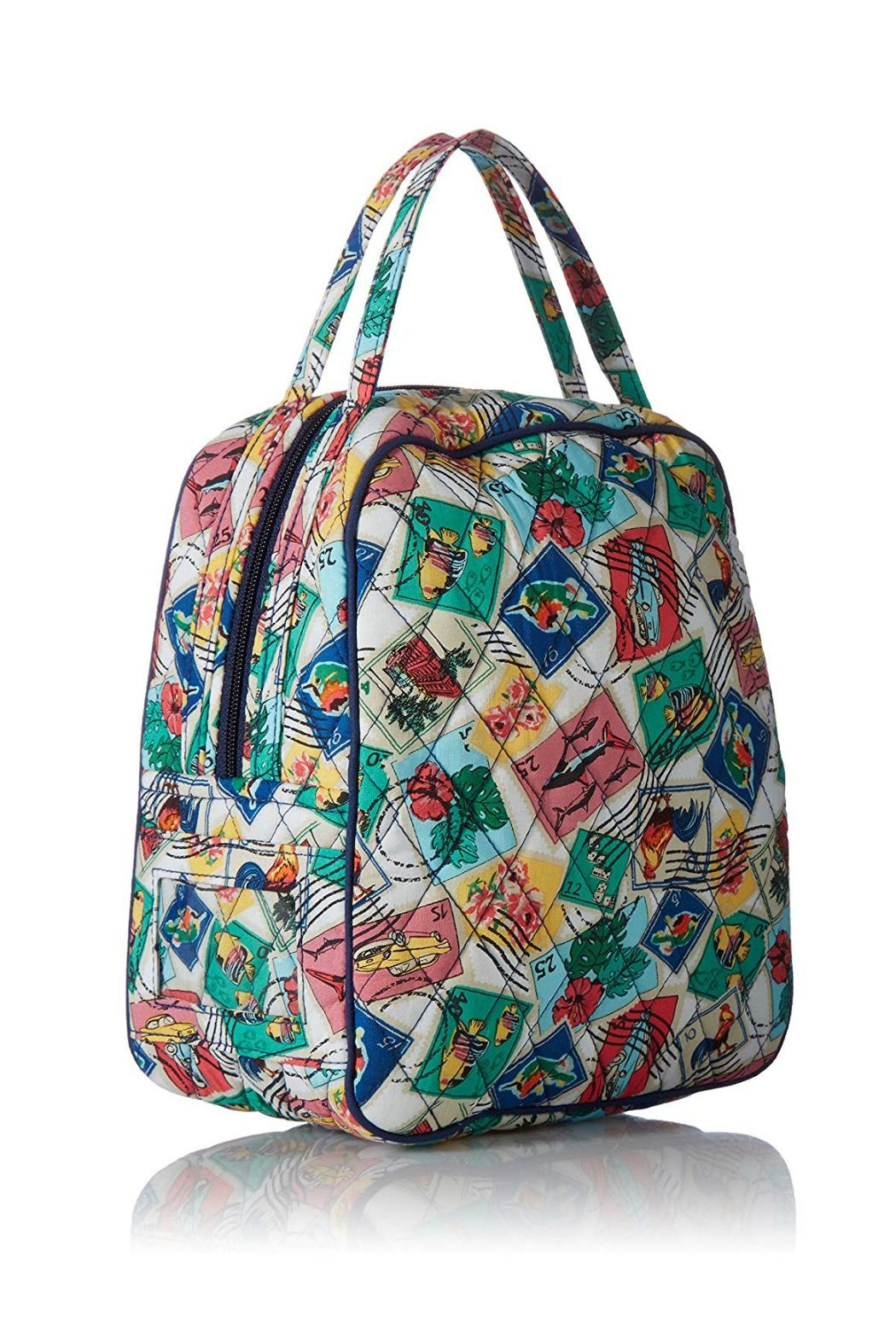 Vera Bradley Cuban Stamps Lunch-Bunch - Front Full Image