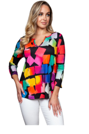 Sno Skins Cubes Knit Top - Product Mini Image
