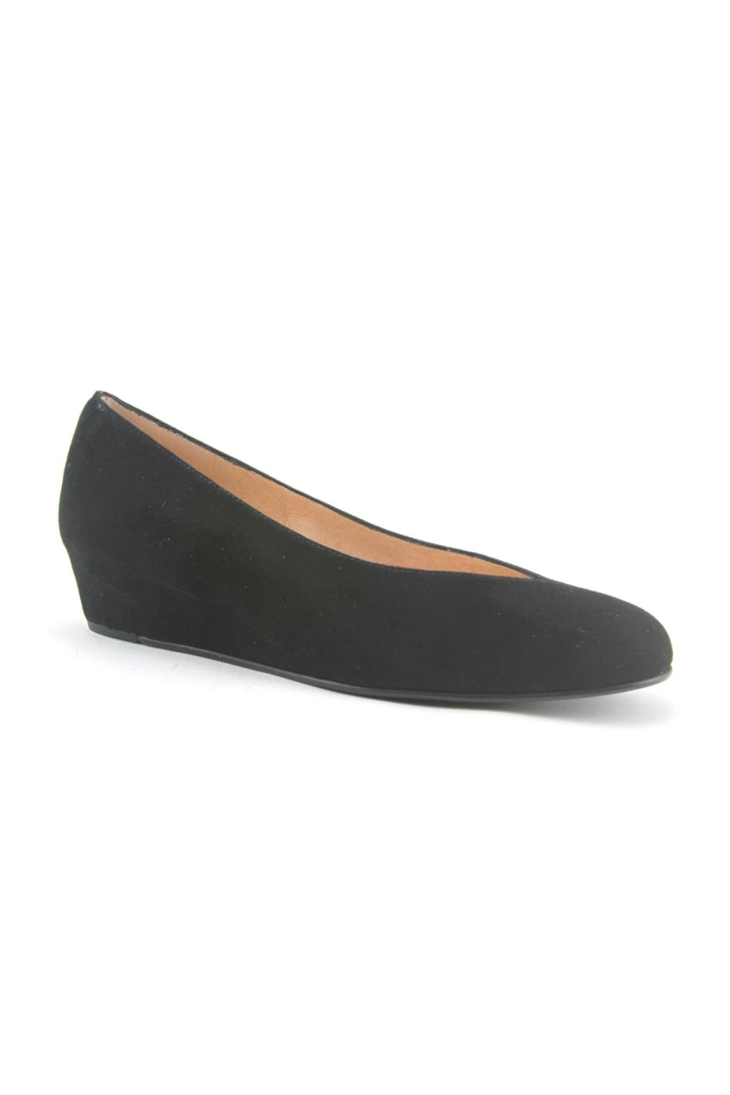 French Sole FS/NY Cubic Suede Wedge - Main Image