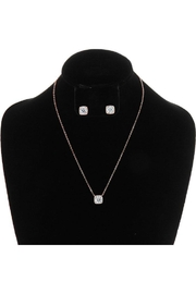 Something Special Cubic Zirconia Necklace-Set - Product Mini Image