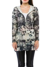 Cubism Abstract Flare Jacket - Product Mini Image