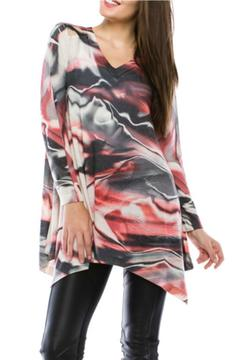 Cubism Abstract Watercolor Tunic - Product List Image