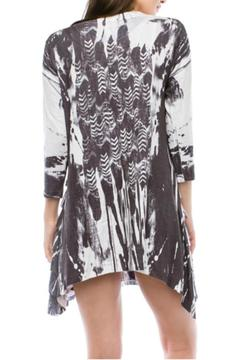 Cubism Black & White Tunic - Alternate List Image