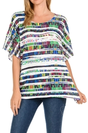 Cubism Colorful Boxy Top - Product Mini Image