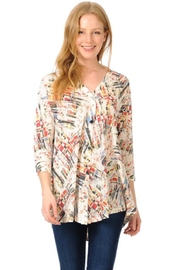 Cubism Colorful Button-Up Cardigan - Product Mini Image