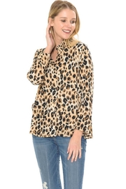 Cubism Leopard Button-Up Jacket - Product Mini Image