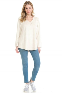 Shoptiques Product: Three Button Swing Top
