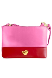 Cuca y Paloma Dhalia Cherry Purse - Front cropped