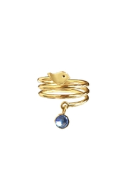 Cuca y Paloma Espiral Blue Ring - Product Mini Image