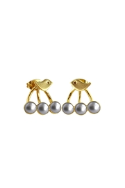 Cuca y Paloma Oriana Earrings - Front cropped