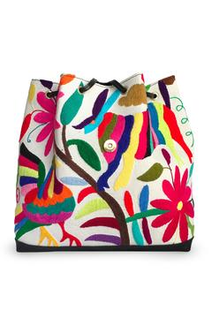 Cuca y Paloma Tenango Colorful Backpack - Alternate List Image